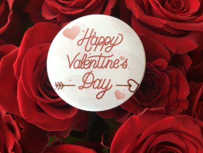 Przypinki na Walentynki