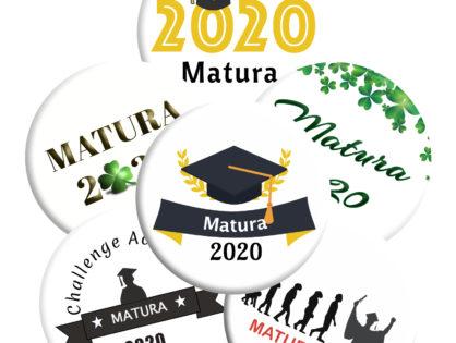 Przypinki maturalne 2020